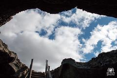 Sky from the hole (andrea.prave) Tags: sky rock clouds island iceland islandia rocks nuvole hole himmel wolken cu southern ciel cielo nubes nuvens cave nuages peninsula  rocce volcanic plain   grotta islande pianura islanda buca grindavk     grindavik vulcanica    southernpeninsula uscimmoarivederlestelle