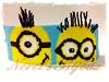 Minions! (Norels Bijoux) Tags: bracelet peyote pulsera minions delicas manchete