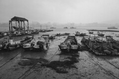 (jasoncremephotography) Tags: blackandwhite bali monochrome river riverside taiwan gr riverbank ricohgr