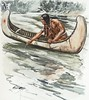 """""""At the stern sat Hiawatha"""" by Harrison Fisher from """"The Song of Hiawatha"""" by Henry Wadsworth Longfellow. Bobbs-Merrill, (1906) (lhboudreau) Tags: illustration river book etching poetry poem drawing illustrations drawings books canoe nativeamerican engraving 1906 longfellow nativeamericans americanindians americanindian bookart minnehaha engravings hardcover etchings hiawatha vintagebook poetrybook henrywadsworthlongfellow vintagebooks classicbook gitchegumee hardcovers epicpoem classicbooks vintagepoem harrisonfisher thesongofhiawatha songofhiawatha hardcoverbooks hardcoverbook thebobbsmerrillcompany classicpoetry vintagehardcoverbook bobbsmerrill vintagepoetrybook classicpoem bobbsmerrillcompany vintagehardcoverbooks ontheshoresofgitchegumee"""