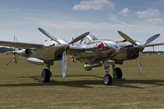 Lockheed P-38L Lightning - 8 (NickJ 1972) Tags: aviation airshow duxford lightning lockheed 13 redbull iwm p38 2015 flyinglegends n25y