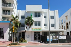 Art Deco Henrosa Hotel South Beach Restoration 1935 (Phillip Pessar) Tags: building art beach architecture hotel south restoration deco 1930 henrosa
