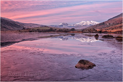 On reflection (Rory Trappe) Tags: christmas winter snow cold reflection ice landscape dawn snowdon snowdonia pinksky eryri northwales mymbyr amateurphotographer berghaus amater practicalphotographer takeaview mountainimages snowdonmountain walesphotography welshphotography lpoty plarybrenin