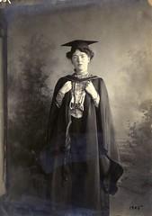 Christabel Pankhurst, c.1905.