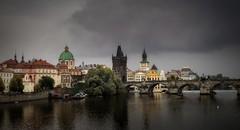 Charles Bridge and Old Town, Prague, Czech Republic (Trent9701) Tags: city vacation urban europe prague europeanvacation czechrepublic trentcooper