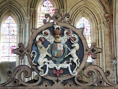 Holy Trinity & St Mary, Dore Abbey, Abbey Dore, Herefordshire 28 October 2015 (Cold War Warrior Follow Me on Ipernity) Tags: church abbey chapel herefordshire cistercian charlesi abbeydore royalarms doreabbey