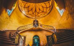 Stairs (Swasti Verma) Tags: heritage hyderabad koti womanscollege worldwidephotowalk scottkelbyphotowalk kotiwomanscollege