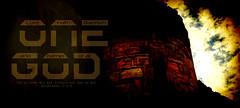 God the Father of All (Bible Verse Photo) Tags: desktop red wallpaper sky 6 brick art stone clouds dark landscape paul scotland christ artistic god 5 text father 4 jesus christian bible block turret 56 verse backgroud newtestament 446 morter contemprary ephesians casle