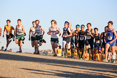 Paly Varsity Boys are off (Malcolm Slaney) Tags: championship crosscountry xc crystalsprings 2015 scval