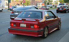 1989 Shelby CSX-VNT (SPV Automotive) Tags: red classic sports car shelby 1989 coupe csx