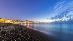 La Malagueta.jpg (Ruiz Molina) Tags: paisaje amanecer cielo nubes otoño alairelibre paisajeplaya