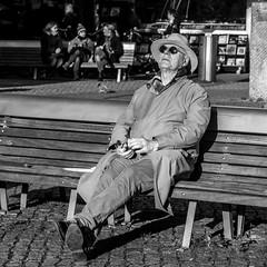 Amsterdam, Spui (Bart van Dijk (...)) Tags: city urban bw man monochrome amsterdam bench blackwhite zwartwit citylife streetphotography squareformat dailylife sunbathing stad zw bankje mannen stadsarchief monochroom zonnebaden peopleinthecity straatfotografie peopleinthestreets dagelijksleven mensenopstraat stadsleven peopleinamsterdam stadsarchiefamsterdam mensenindestad vierkantformaat 11format bartvandijk breeblebox menseninamsterdam cityarchivesamsterdam straatnamenenstadsplekken