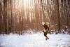 Winter Walk (I Flickr 4 JOY) Tags: chelsea avery snow winter walking piggyback winterlight pregnant december squamish