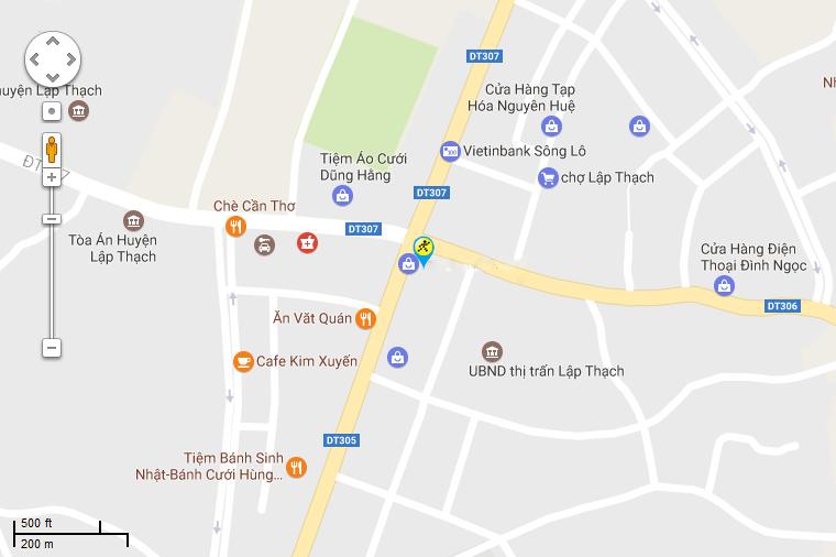 Khai trương siêu thị Điện máy XANH Lập Thạch Vĩnh Phúc