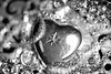 [12.365] Treasure (Rich Jankowski) Tags: canon5dmkii ef100mmf28usm photoaday2017 photoaday 2017 365 5d2 canon jewellery bokeh chain heart locket necklace silver treasure mono blackwhite blackandwhite bw black white