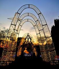 Gardens of Casa Loma, Winterland Night, Casa Loma, Toronto, ON (Snuffy) Tags: christmas winterlandnight casaloma gardensofcasaloma toronto ontario canada level1photographyforrecreation