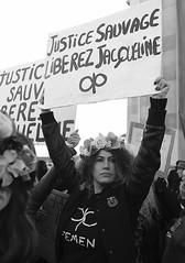 _DSF8608 (sergedignazio) Tags: france paris trocadéro tour eiffel street photography photographie rue fuji xpro2 manifestation rassemblement fenmen jacqueline sauvage justice prison