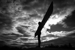 Aon BW [1] (Rockman of Zymurgy) Tags: angel north gateshead newcastleupontyne uk gormley statue sculpture