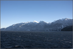 winter howe sound (tesseract33) Tags: tesseract33 peterlang squamishphotographer peterlangphotographynet outside pacificnorthwest sea ocean howesound mountains snow light world art travel sky winter