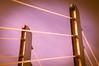 Pylons (Jori Samonen) Tags: pylon tower cable sky crusellinsilta crusell bridge ruoholahti helsinki finland nikon d3200 1603000 mm f3563