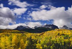 ..Autumn Breeze.. (Ravisankar RP) Tags: autumn longexposure fall colorado telluride cr7 ravisankar d600 nikon 50mm gnd 10stop yellow blue clouds