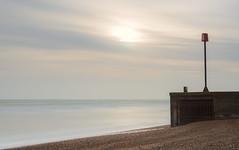 Sun, Sea and Shingle (Mandy Willard) Tags: 366 2412 beach sun water stormdrain sea