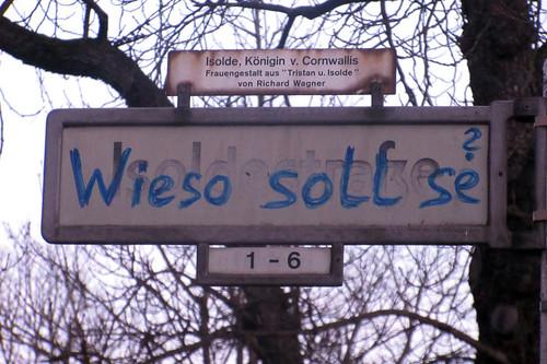 Berlin - Wieso soll se?