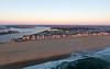 The sun rises over Manasquan. Captured via a DJI Phantom 4. (apardavila) Tags: atlanticocean djiphantom4 jerseyshore manasquan manasquanbeach manasquaninlet aerial drone sun sunrise