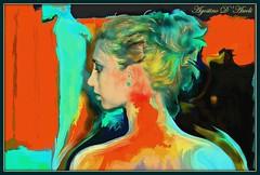 Ritratto di donna in full color - Gennaio-2017 (agostinodascoli) Tags: art digitalart fullcolor texture donna photoshop colore agostinodascoli cianciana sicilia nikonclubit