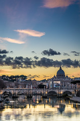 Vatican sunset (aurlien.leroch) Tags: vatican sunset rome roma italy italie italia nikon d7100 cityscape europe