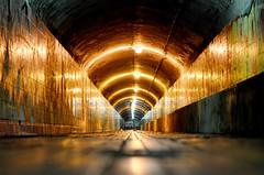 Tunel Estacion Empalme (Jose Manuel Barreiros Galiña) Tags: tunel tren luz noche volver vida imagen infinito ourense galicia belleza modelo hombre fantasma