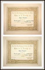 A distinctly well-spoken man (Steven & Joey Thompson) Tags: new era academy certificates distinction junior grade solo verse english preparatory school speak
