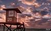 No Lifeguard on Duty (Don's Photostream) Tags: clouds winter newportbeach beach