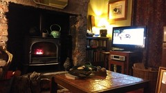 Life in a terrace. (Portlandbill) Tags: terrace terraced house lounge living room calderdale front fire stove warmth yorkshire