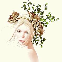 BA - Eve (~ ℬoudicca ~) Tags: avatar secondlife 3d windlight firestormviewer digitalart digital lelutka maitreya lode euphoria tram portrait flowers