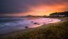 Another day ending. (BjørnP) Tags: beach water sea coast seascape landscape sunset light longexposure sky clouds ocean eigerøy egersund rogaland norge norway sony colors bjørkeland peder bjørn
