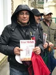 Distribution of The True Mehdi Magazine, Pakistan High Commission and Embassy, London, England 5 (Mehdi/Messiah Foundation International) Tags: pakistan london england muslim islam imam mehdi