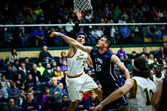 USF Basketball vs LMU 45 (donsathletics) Tags: usf mens basketball vs lmu 45 jordan ratinho dons university san francisco college