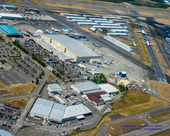 Aerial Photo  of A Slice of Paine Field Industry (AvgeekJoe) Tags: aerialphotograph d5300 dslr kpae nikon nikond5300 painefield snohomishcounty usa washington washingtonstate aerial aerialphoto aerialphotography
