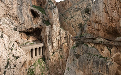 Caminito del rey. (Ruiz Molina) Tags: montañas paisajes