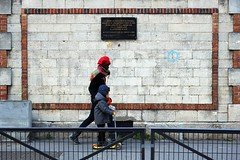 In memoriam 13-2017 ( serie walkers ) (Kairos !) Tags: walker walkers walking walk urban city street streetwalk streetview streetphotography streetphotographer fujifilm fujixt10