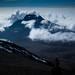 Blick ins Wolkenmeer beim Abstieg über die Mweka Route - 6. Tag am Kilimanjaro