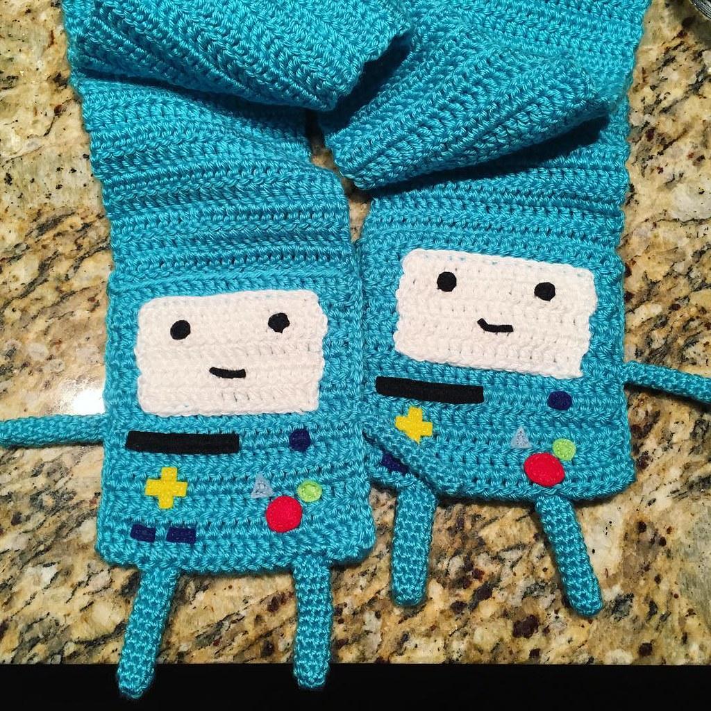 Amigurumi Beemo : The Worlds Best Photos of adventuretime and crochet ...