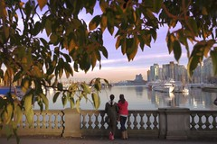 Stanley Vancouver (yuanxizhou) Tags: boat vancity canadaplace canada tourist vancouver britishcolumbia park amazing awesome view street city waterfront downtown skyline sky seashore sunset