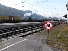 Wagons at Hall-in-Tirol Bahnhof