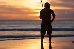 _MG_1691 (treilmann) Tags: beach fisherman seminyak sunset bali fishing