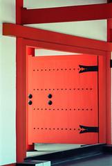 Vermillion doorway (Tim Ravenscroft) Tags: doorway vermillion imperial palace sento gosho kyoto japan