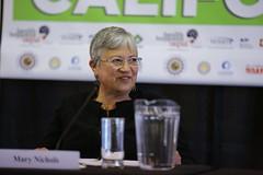 Keynote speaker Mary Nichols, Chair of CARB #CARBONFREECA