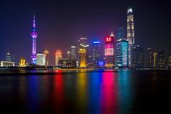 SHANGHAI SKYLINE (zozoros) Tags: shanghai nightlights skyline china