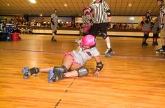 Another One Bites the Dust (Bsivad) Tags: rollerderby charmcity nightterrors junkyarddolls puttyhillskateland